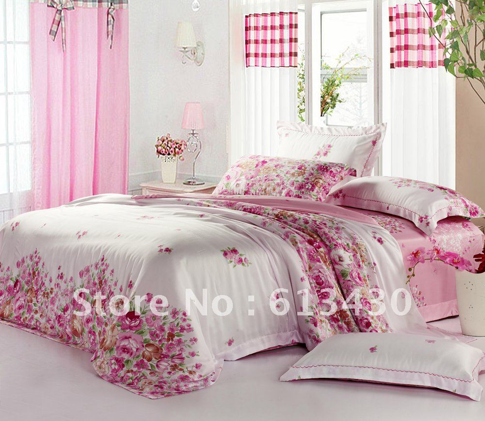 europe luxury tencel fabric bedding sets queen king size. Black Bedroom Furniture Sets. Home Design Ideas