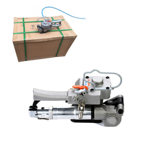 Semi Automatic Portable Pneumatic PET Packing Strapping Machine ,Plastic banding machine pallet straper For 13-19mm PP PET Strap