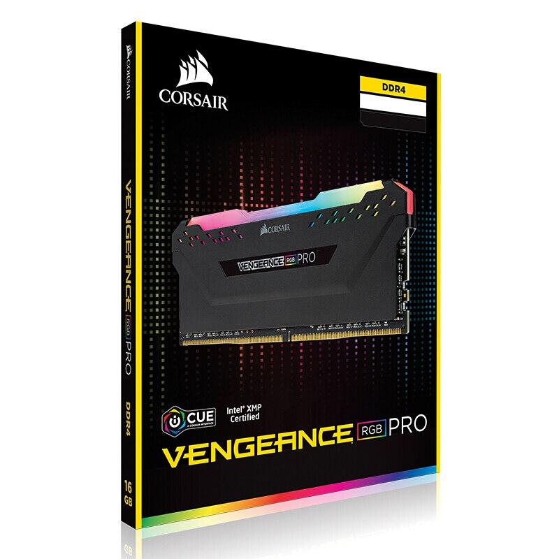 CORSAIR RGB PRO DDR4 RAM 8 GB 3000 MHz DIMM ordinateur de bureau de mémoire Soutien Mère 8g 16g ddr4 3000 Mhz rgb ram 16 gb 32 gb