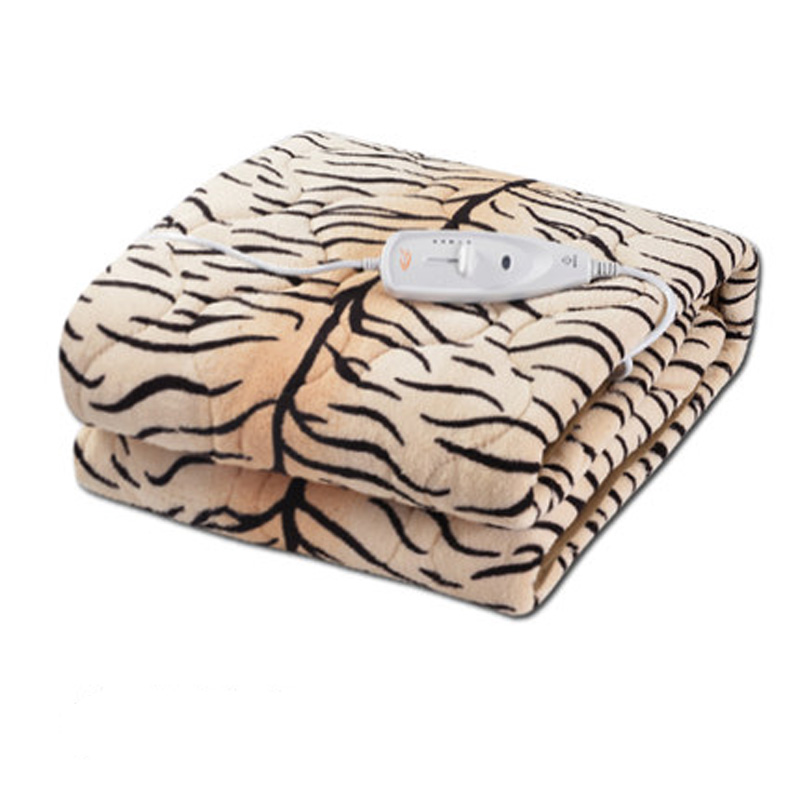 150x130cm Plush Electric Blanket Automatic Protection Type Thickening Double Electric Blanket Body Warmer The Heated Blanket