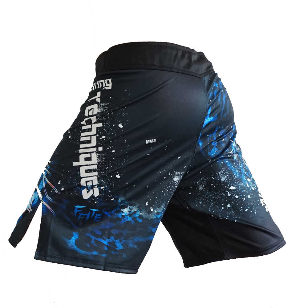 MMA السراويل اللياقة البدنية الرياضة القتال النمر الملاكمة التايلاندية كيك بوكسينغ السراويل القتال التدريب قصيرة mma ساندا