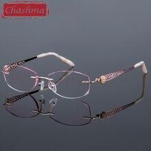 Ready Reading Glasses Myopia Degree Eyeglasses Women Opticos Mujer marcos de lentes pticos mujer Tint Lenses with Diamond