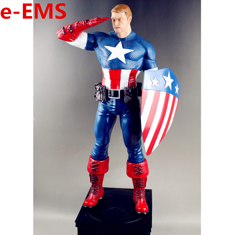 The Avengers Superhero Captain America Sentinel Of Freedom 1/4 Statue Resin Action Figure Model Giocattolo G1465The Avengers Superhero Captain America Sentinel Of Freedom 1/4 Statue Resin Action Figure Model Giocattolo G1465