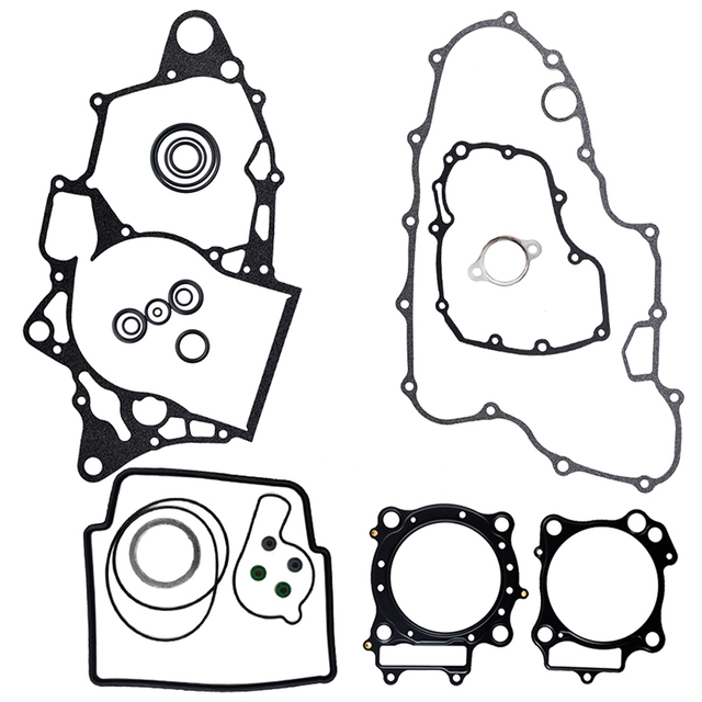 US $25 99 20% OFF|Motorcycle Engine Parts Complete Cylinder Gaskets Kit For  Honda TRX450ER 2006 2014 TRX450R TRX 450 R/ ER Stator Cover Gasket-in