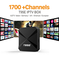 IPTV Streaming Box 1700 Europe Arabic Sky IPTV Channel Package Android Smart Wifi 1G/8G Italy Portugal French IP TV Box Receiver