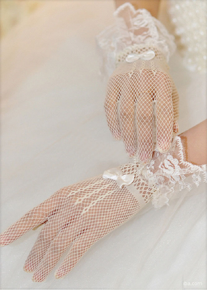 Wedding Accessories Kid Gloves Flower Girl Gloves Long Gloves Girl Dancing Costume Gloves Free Shipping Wholesale Bridal Gloves