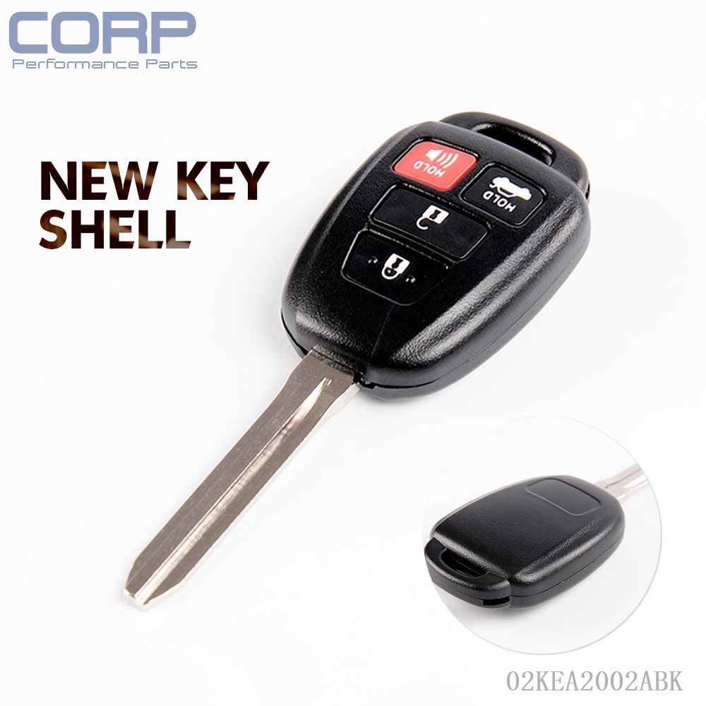 New for 2012 2013 2014 toyota camry keyless entry remote head key fob hyq12bdm china