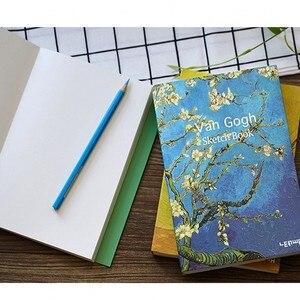 Image 3 - Papeterie créative Vintage carnet carnet de croquis planificateur A5 blanc carnet de croquis Journal Journal Agenda Filofax bureau fournitures scolaires