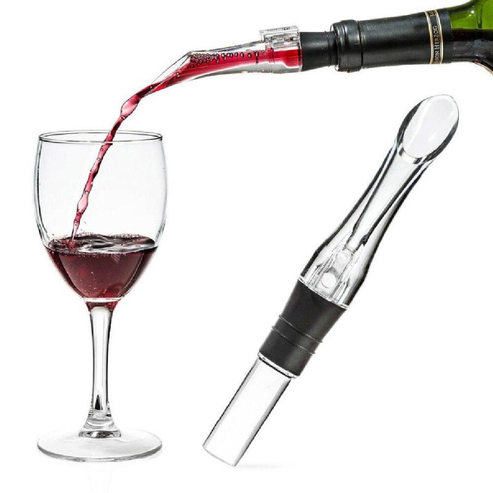 1 St Acryl Beluchten Schenker Decanter Wijn Beluchter Tuit Pourer Nieuwe Draagbare Wijn Beluchter Schenker Wijn Accessoires