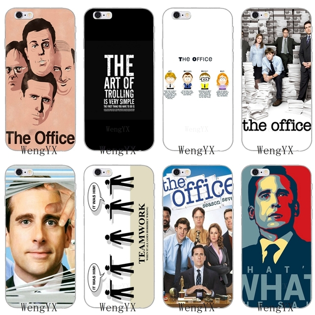 sports shoes 1e66a 9650b US $1.99  funny Michael Scott The Office pattern Slim Soft phone case For  Samsung Galaxy S3 S4 S5 S6 S7 edge S8 S9 Plus mini Note 3 4 8-in ...