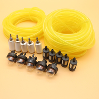 5M (16.4 feet) Tygon Petrol Fuel Line Hose Filter Primer Bulb Kit For Stihl Husqvarna Trimmer Jonsered Trimmer Chainsaw Blower