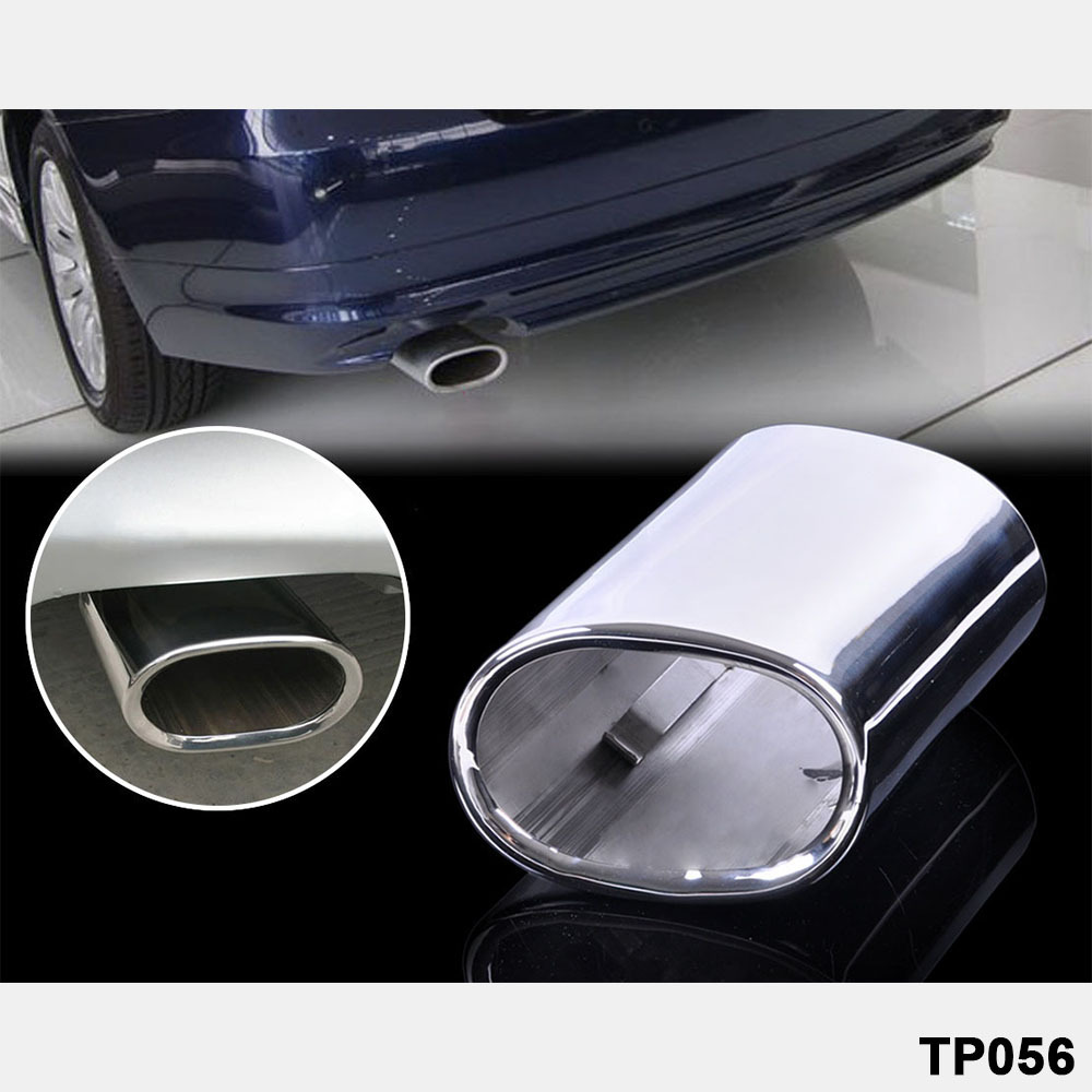 The tail exhaust pipe of high quality automobile is suitable for 1984 1999 year BMW 3 Series 318 stainless steel tail throat in Exhaust Headers from Automobiles Motorcycles