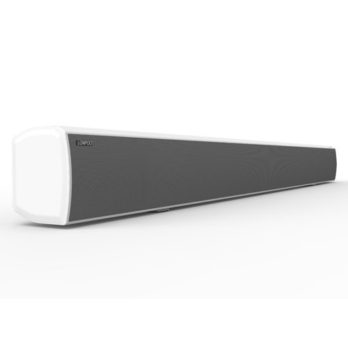 LONPOO Bluetooth 40W TV Soundbar With Subwoofer Speakers