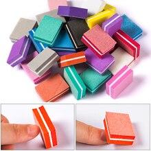 Mtssii Двусторонняя моющаяся пилочка для ногтей наждачная бумага инструмент для полировки ногтей аксессуары набор инструментов для ухода за ногтями Маникюрный Инструмент