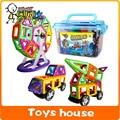 100 unids de construcción Magnética bloques de construcción magnética juguetes De Diseñador kits de construcción de modelo juguetes para niños bloques de construcción de imán