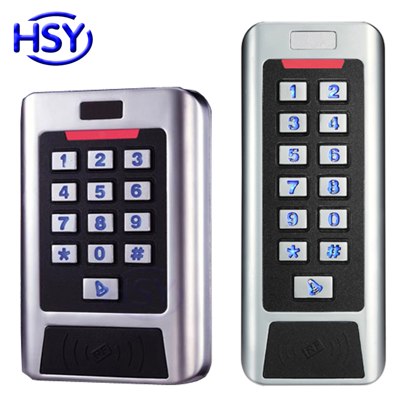 2-Door Two Relay Keypad Standalone Access Control IP68 Waterproof EM ID Proximity Card Entry Lock Door Controller