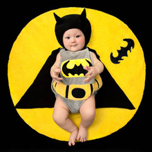 NEW Toddler Boy Girl Baby Costume Batman Taking Photography Props Knit Crochet DEG Free shipping