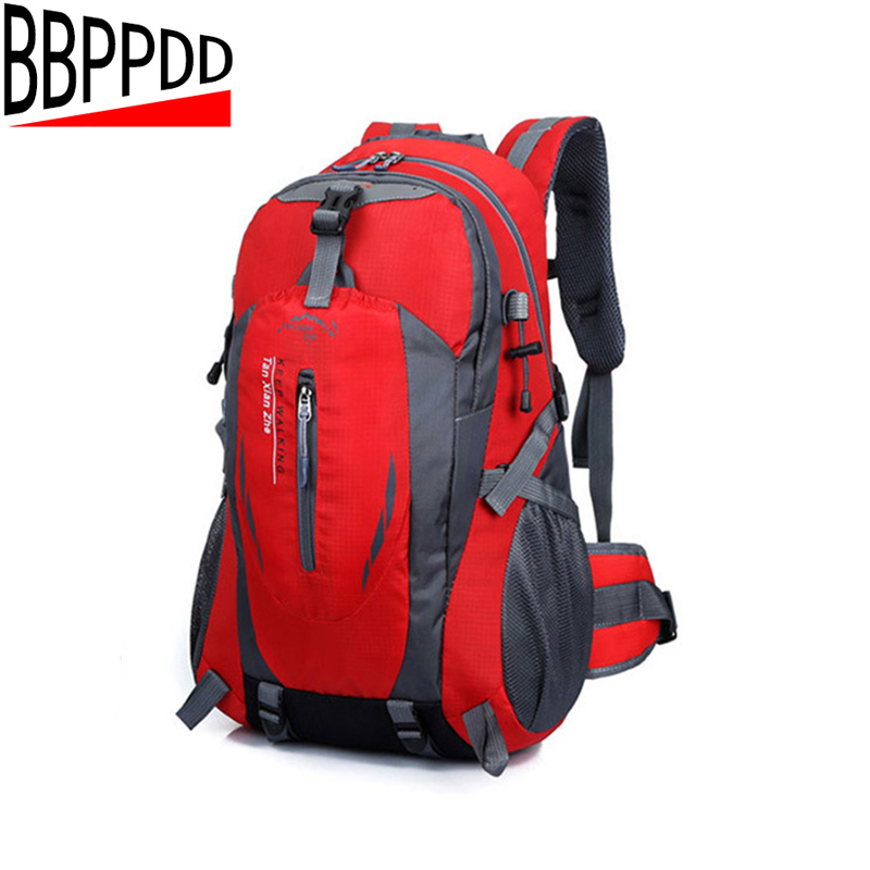 цены BBPPDD wholesale Waterproof Nylon men Backpack Hike Camp Climb Bag women mochila Travel Bag Rucksack