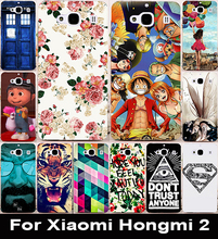 Hard Plastic Painted Cover Case For xiaomi redmi2 hongmi2 4 7 inch redmi 2 hongmi 2