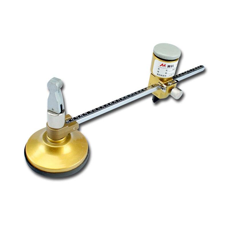 Verre Cercle Cutter 400mm Diamètre Compas De Coupe avec Ventouse Circulaire Lunettes Rondes Maker