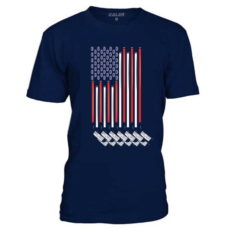 COLDOUTDOOR Baumwolle Oansatz T-Shirts für eis Hockey Hohe qualität kostenloser versand Vintage Kurze-Sleeve Herren Hemd TS1827