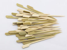 2000 Pieces 10.5cm Natural Bamboo Picks Skewers for BBQ Appetizer Snack Party Cocktail Grill Kebab Barbeque Sticks Free Shipping