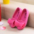 Конфеты Цвет Принцесса Обувь для Девочек Детей Сандалии Мода Бантом Девочек Сандалии Детей Обувь Летом Стадо Детская Обувь Девочек Квартиры