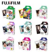 10-60 листов Fuji Fujifilm instax mini 9 8 белые цветные кромки для instant camera mini 8 9 7s фотобумага