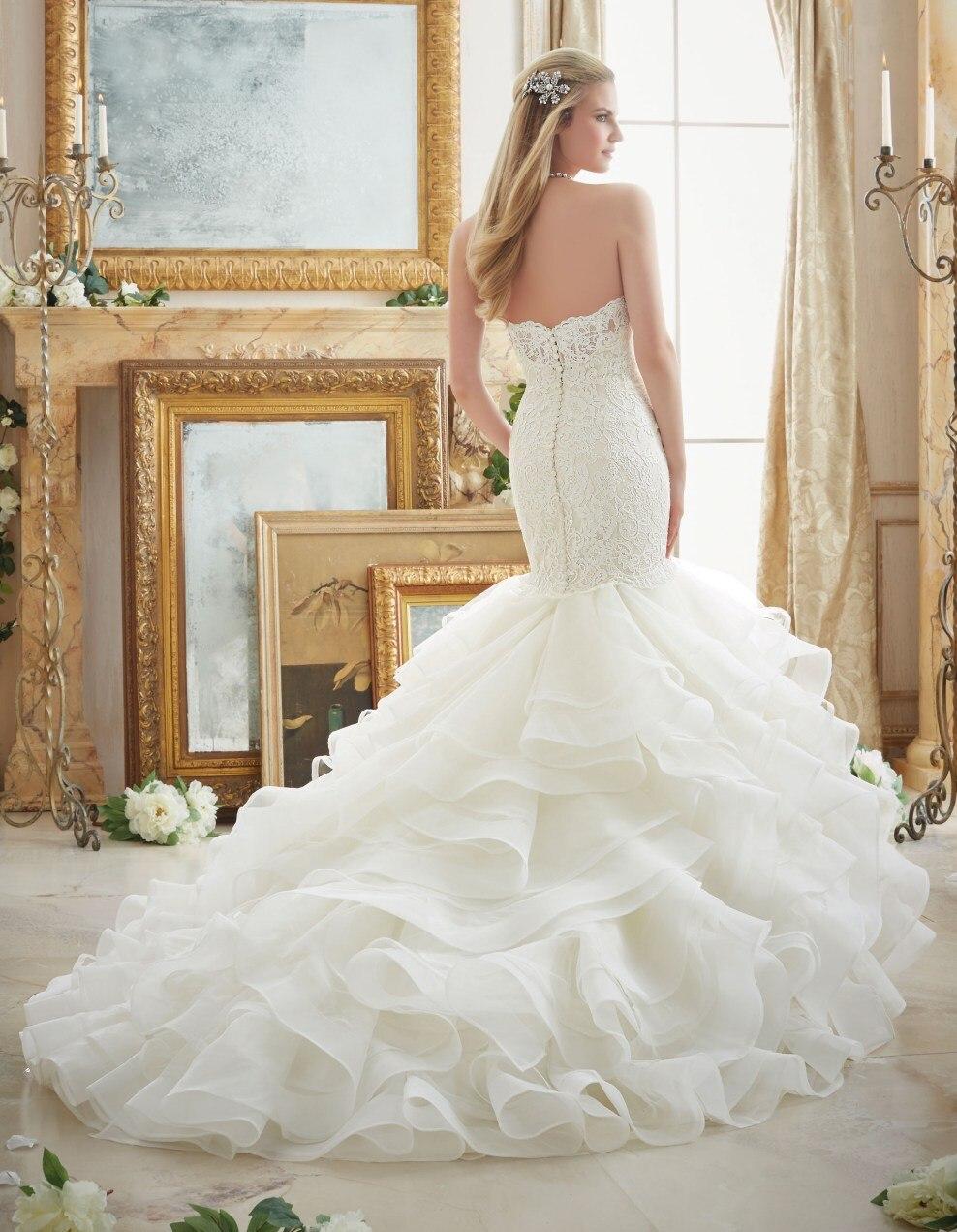 Brautkleid Sexy Spitze Meerjungfrau Hochzeitskleid 2016 Vintage ...