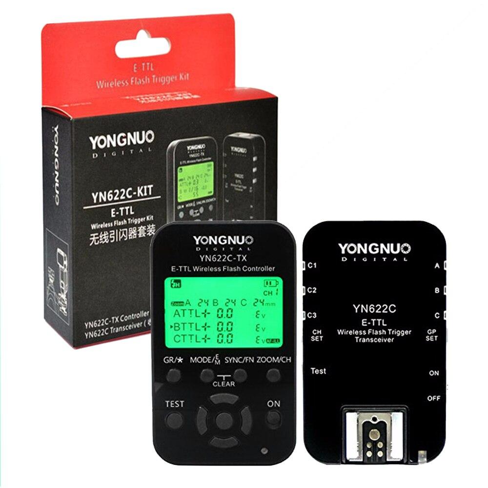 Yongnuo 1pcs YN-622C TX Wireless Flash Transceiver + Trigger Controller for Canon 5D 10D 20D 30D