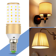 цены E27 LED Lamp SMD 2835 Led Corn Bulb E14 Smart IC Driver 3 Color Temperatures Integrated Light 4W 5W 7W Home Lighting AC 85-265V