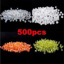 5301 3 мм 500 шт стеклянные кристаллы бусины биконус граненый свободный разделитель бисер DIY Изготовление ювелирных изделий U выбрать цвет