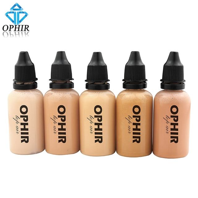 OPHIR PRO Аэрограф лицо Make-Up корректор Фонд спрей Air макияж основу для Аэрограф Kit-1oz/бутылки _ TA104