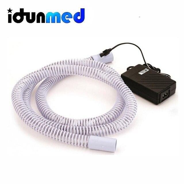 CPAP Heated Tube Pipe Hose 70 Inch 1.8M CPAP APAP BiPAP Respirator Heater Tubing For Sleeping Apnea Anti Sorning Free Shipping
