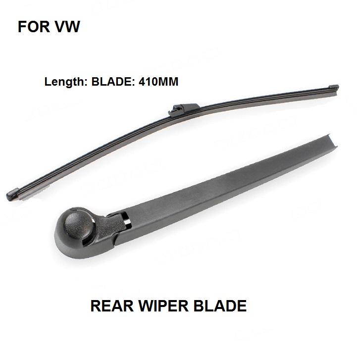 FOR VW T5 TRANSPORTER REAR WIPER BLADE AND ARM SET BRAND NEW 2003 -2016