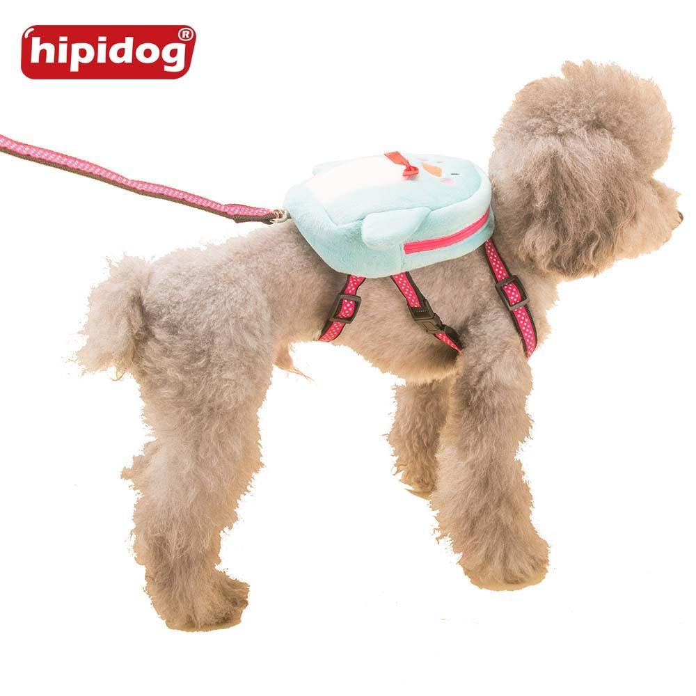 Hipidog perro de mascota suave terciopelo mochila patrón animal ...