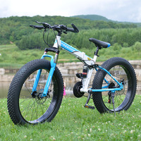Snow Bike For Man And Women Front And Rear Mechanical Disc Brake Mountain Bike Big Tire