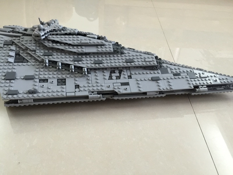The First Order Star Model Destroyer Set 1585PCS Genuine Star Plan Series Compatible Lepins Building Blocks Bricks Figures Toys цена
