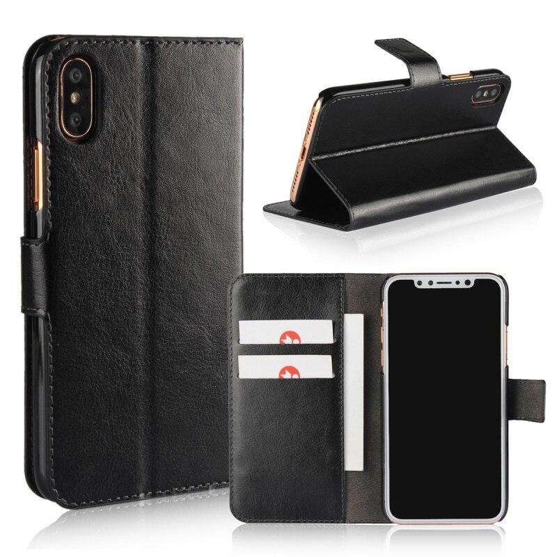 Оптовая продажа 100 шт. Чехлы для Apple iPhone 8 Plus 8 plus X iPhoneX кожаный бумажник чехол мобильного телефона мешок аксессуар coque Etui Hoesjes