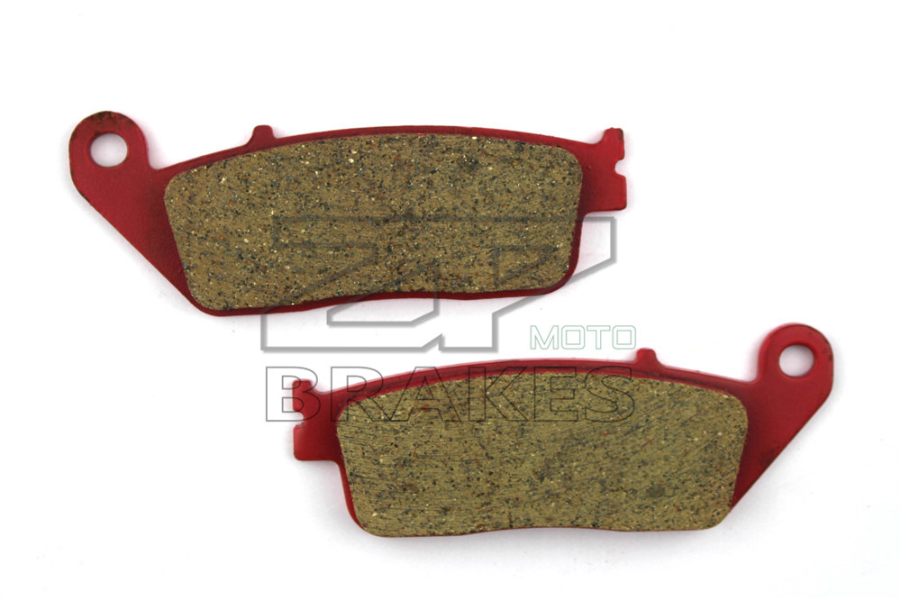 Motorcycle Parts Brake Pads For HONDA VT 750 C Shadow Aero 2007-2013 Front OEM New Red Composite Ceramic Free shipping metal 19cm motorcycle saddle bag support bar mount brackets for honda shadow aero vt vlx