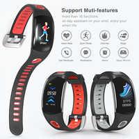 Smart Wristband RollsTimi Hands raise light up Heart Rate Monitor Pedometer Swim smart watch men luxury sport Smart Bracelet Men