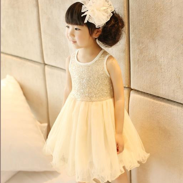 8077c97e99a7 2018 New Summer Girls Dress Princess Kids Wedding Dresses Sequins Girls  Clothes Kids Clothing Christmas Children Party Costume-in Dresses from  Mother   Kids ...