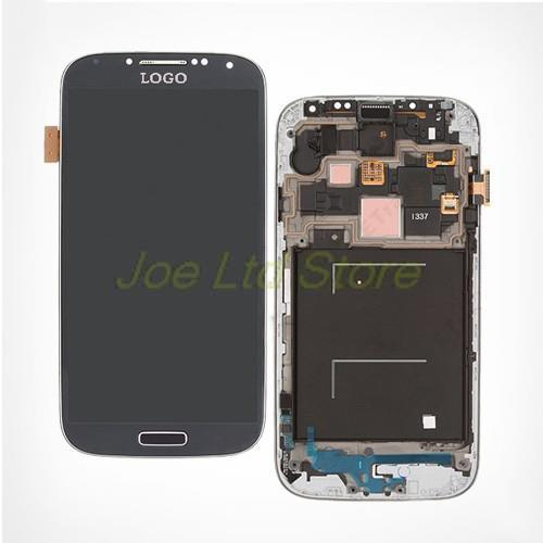 Free shipping For samsung galaxy s4 i9500 i9505 I337 I545 Original LCD display Touch Screen Digitizer assembly with Front frame brand new i9505 lcd screen display for samsung galaxy s4 i9500 i9505 i337 i545 lcd with touch digitizer glass panel frame