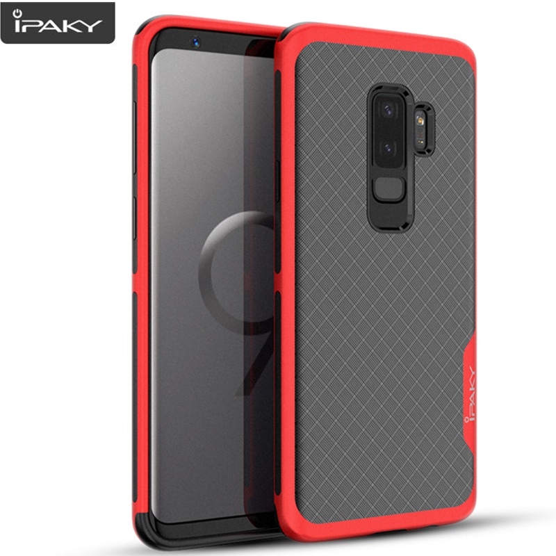 For Samsung S9 Case iPaky Galaxy S9 Plus Armor Electroplated Bumper TPU Hybrid Shockproof Case for Samsung Galaxy S9 Plus Case
