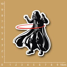 Star Wars Darth Vader Spoof funny Waterproof PVC sticker for Notebook/refrigerator/skateboard/trolley case/backpack/Tables/book