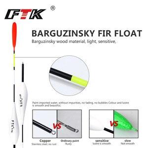FTK Barguzinsky Fir 10 шт./лот поплавок вес 2 г-5g длина 20 см-22 см поплавок для ловли карпа