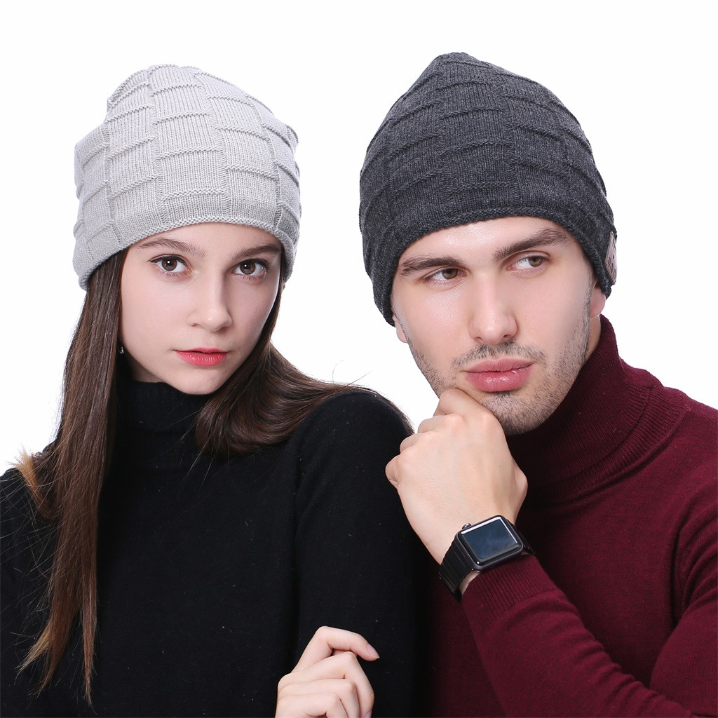 fc362e4487b New Fashion Winter Bluetooth Music Hat With Stereo Headphone Headset  Speaker Wireless Warm Ponytail Beanie Bonnet