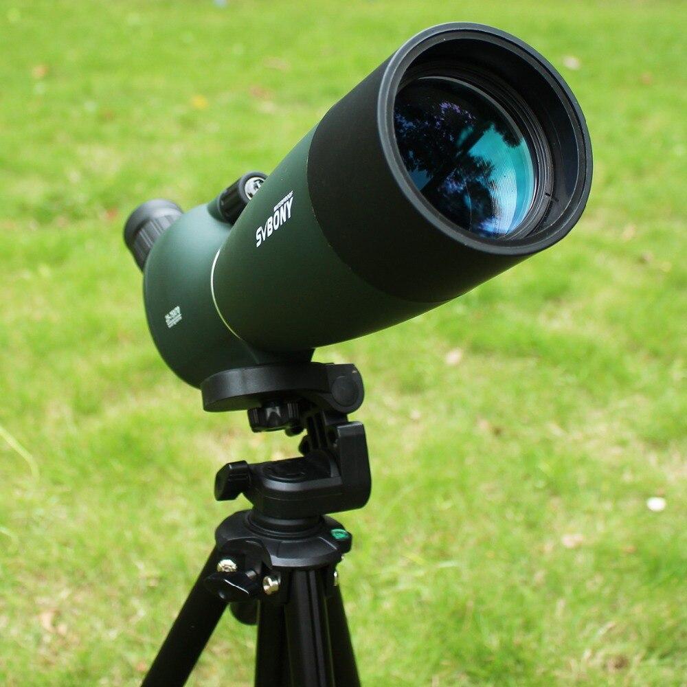 Svbone SV28 50/60/70mm 3 Types longue-vue étanche Zoom télescope + trépied coque souple pour l'observation des oiseaux cible tir à l'arc F9308Z - 4