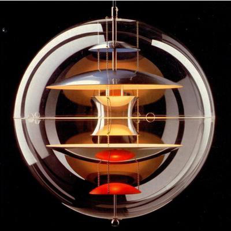 Original Verner Panton Verpan VP Globe Lamp Pendant Light Creative Designer Aryl For Living