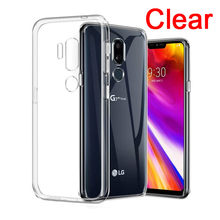 透明ソフトシリコン TPU 電話ケース Lg V40 V30 V20 × POWER3 Q6 Q8 Q7 K40 G7 G6 G4 k4 K3 K8 K10 2018/17 Capa(China)